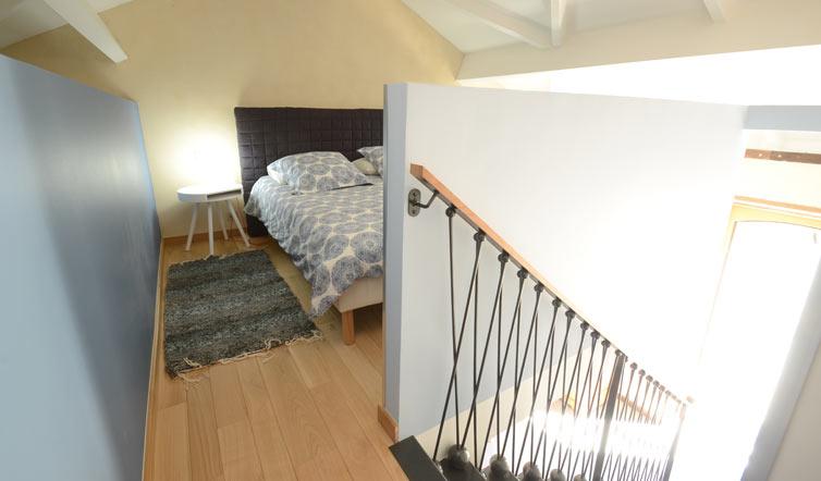 Voir Studio « La Parée » – 37 m2 with mezzanine - 2/4 per.